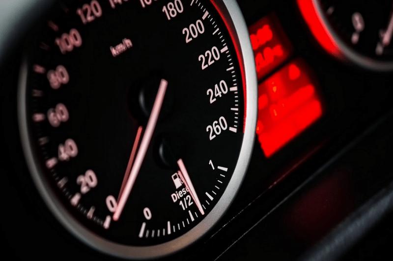 Tacho, Auto, Kfz, Geschwindigkeit