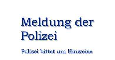 POL-HSK: Unsittliche Berührung