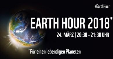 In Kassel gehen die Lichter aus – Earth Hour 2018: Kassel bei weltweiter Klimaschutzaktion des WWF wieder dabei