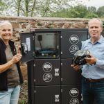 Ladestationen für E-Bike-Akkus am Tierpark Sababurg