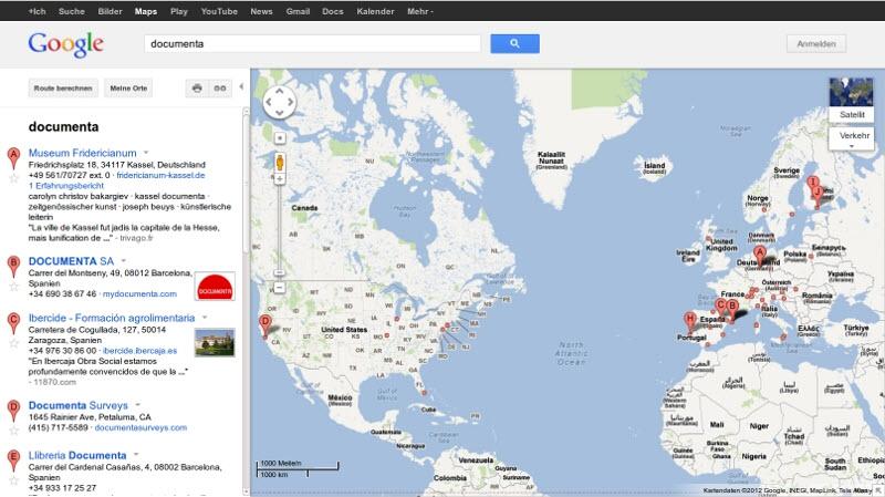 Google-Maps-Suche 2