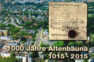 Eine Broschüre informiert über 1000 Jahre Dorfgeschichte (Foto/Grafik: Hans Haas/Staatsarchiv/Verlag Thiele&Schwarz/nh)