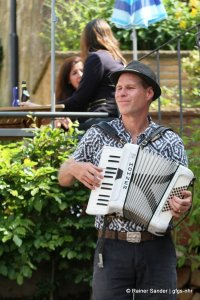 Musik auf den Straßen (Foto: Rainer Sander)