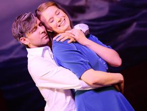 Gunnar Seidel (Kapitän Georg von Trapp), Karolin Konert (Maria Rainer), Foto: N.Klinger