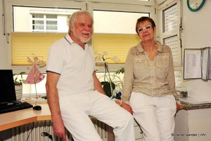 Wolfgang Kersting und Tatjana Braun übergeben eine funktionierende Abteilung und bleiben mit ihrer Praxis im Haus (Archivfoto: Rainer Sander)