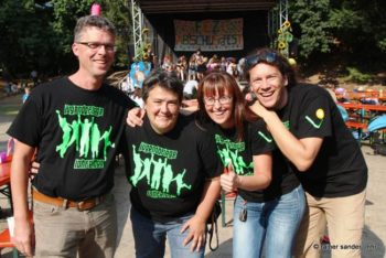 : Das Team der Jugendpflege (Foto: Rainer Sander)