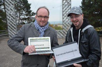 Marcus Leitschuh und Kai Mattis (© Sonja Mattis/nh)