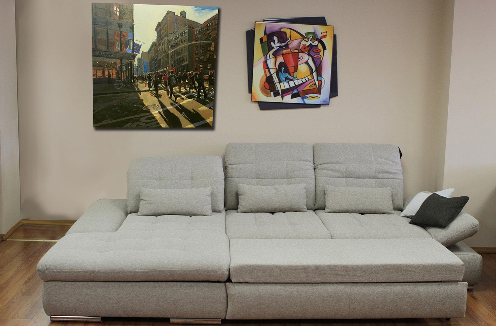 Large Sleeper Sectional Sofa