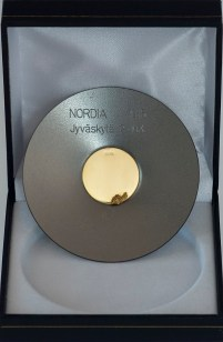 NORDIA 2016 -kultamitali / gold medal