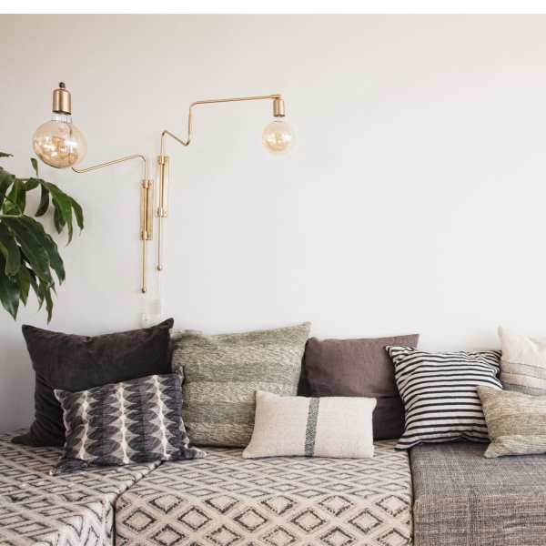 Wall lamp SWING brass House Doctor Nordic Decoration Home