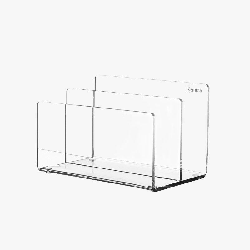 storage solutions acrylic magazine rack