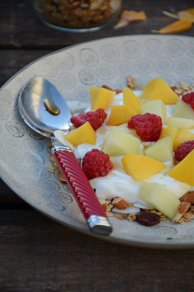 Muesli with a hint of India