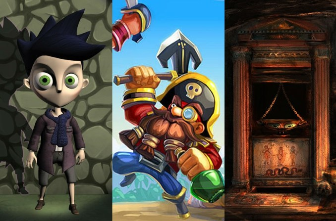 GCDA 2015 nominees Shadow Puppeteer, Raids of Glory & Medusa's Labyrinth