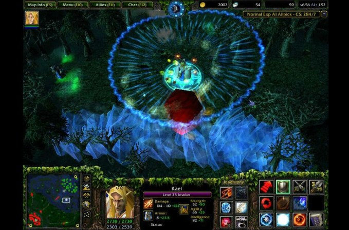 DotA mod for Warcraft III: Reign of Chaos/The Frozen Throne
