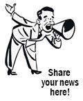 Share your news here!