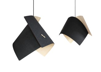 Acoustic Ply lamp by Blum & Wolf