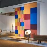 Furniture by Máté Bogár, textiles by Andrea Ruttka