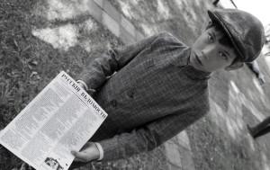 Newspaper boy (play, Erik Pihl).
