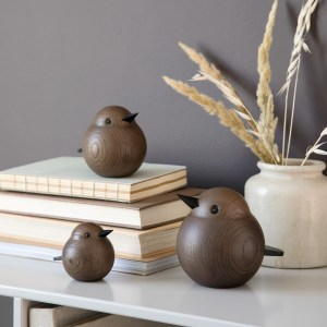 Smoke stained sparrow sold by Nordic Light Home