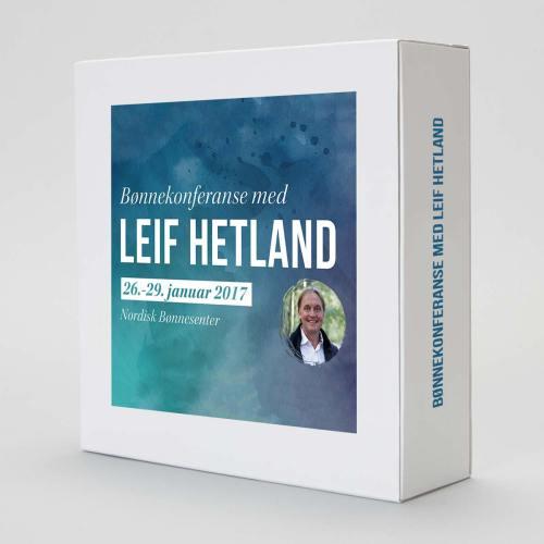 Bønnekonferanse med Leif hTeland