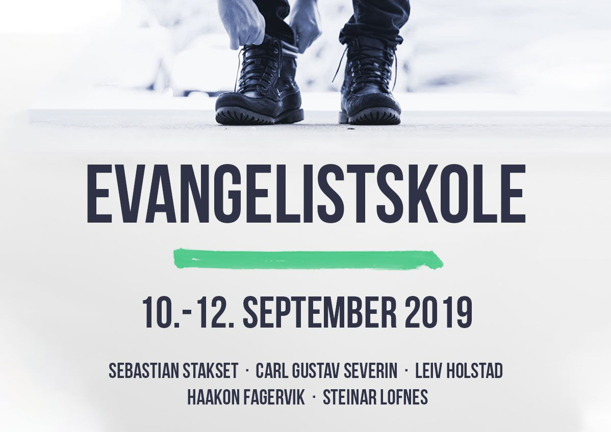 Evangelistskole 10-.12. september 2019