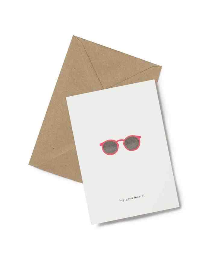 Kartotek 'hey good lookin' Greeting Card