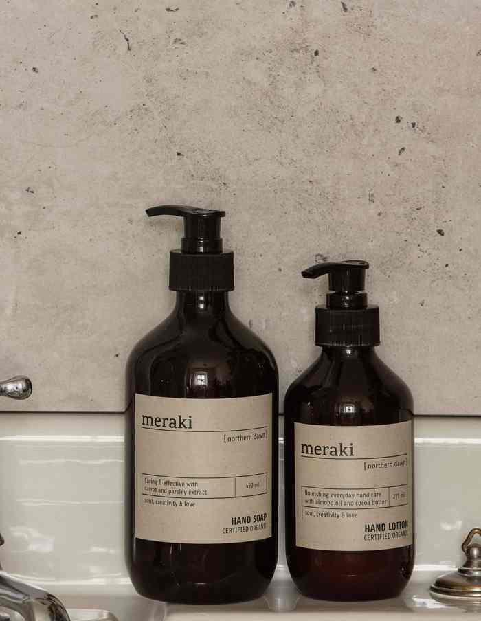 Northern Dawn Meraki Hand Soap, Certified Organic