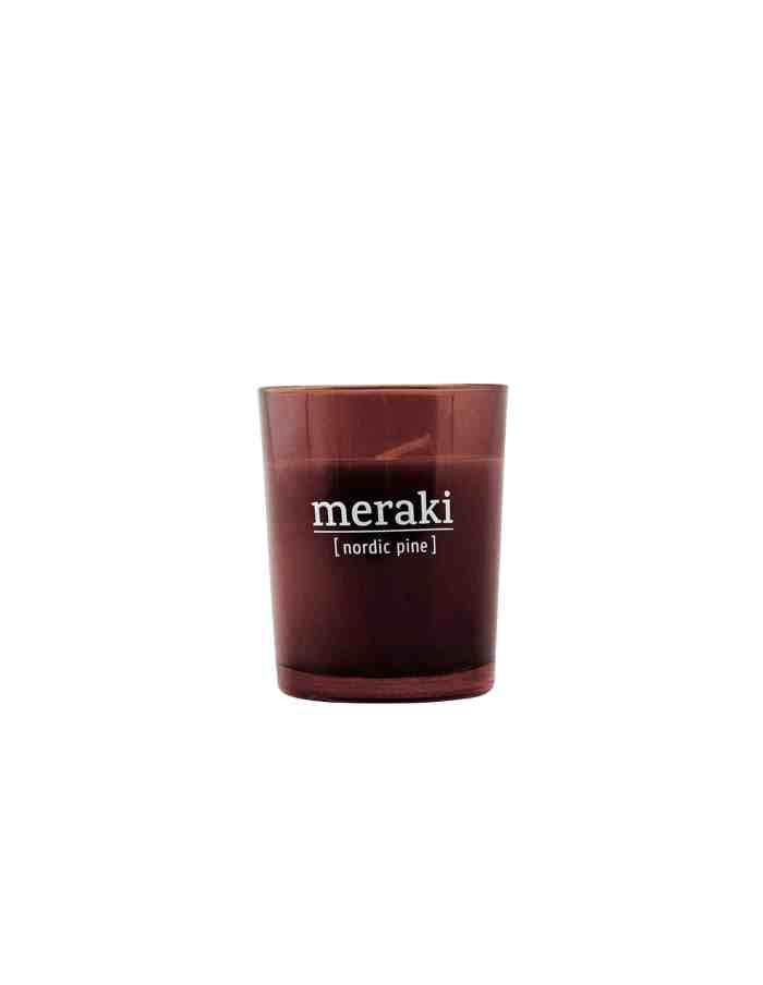 Meraki Nordic Pine Scented Candle, Small