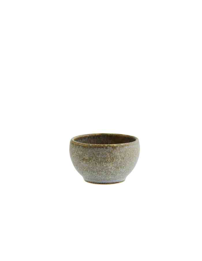 Small Taupe Serving Bowl, Madam Stoltz