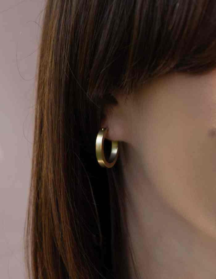Small Gold Hoop Earrings, Forever Lasting