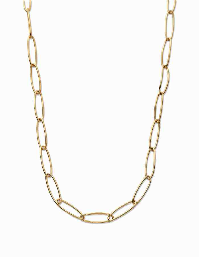 Gold Chain Link Choker, Forever Lasting