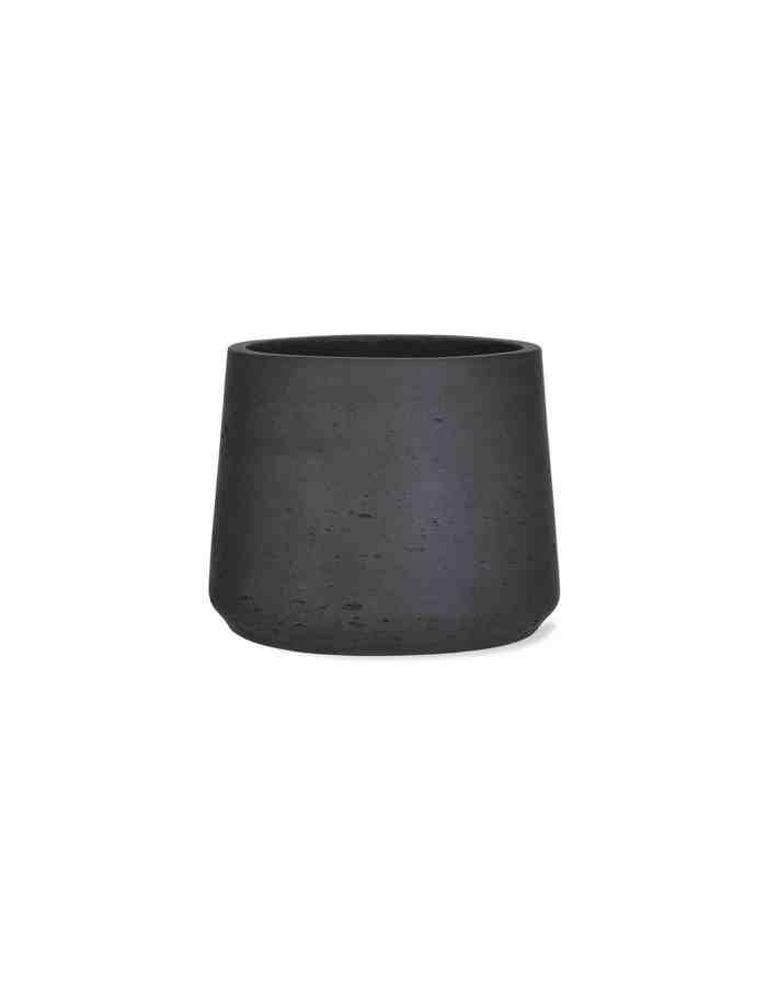 Carbon Tapered Plant Pot, Medium