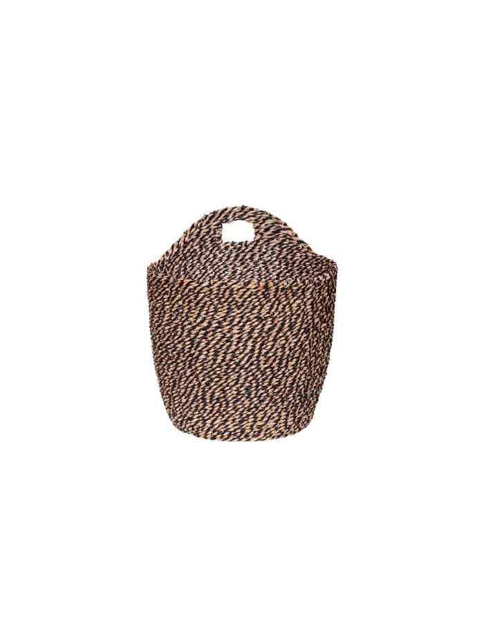 Small Woven Hanging Basket, Hübsch