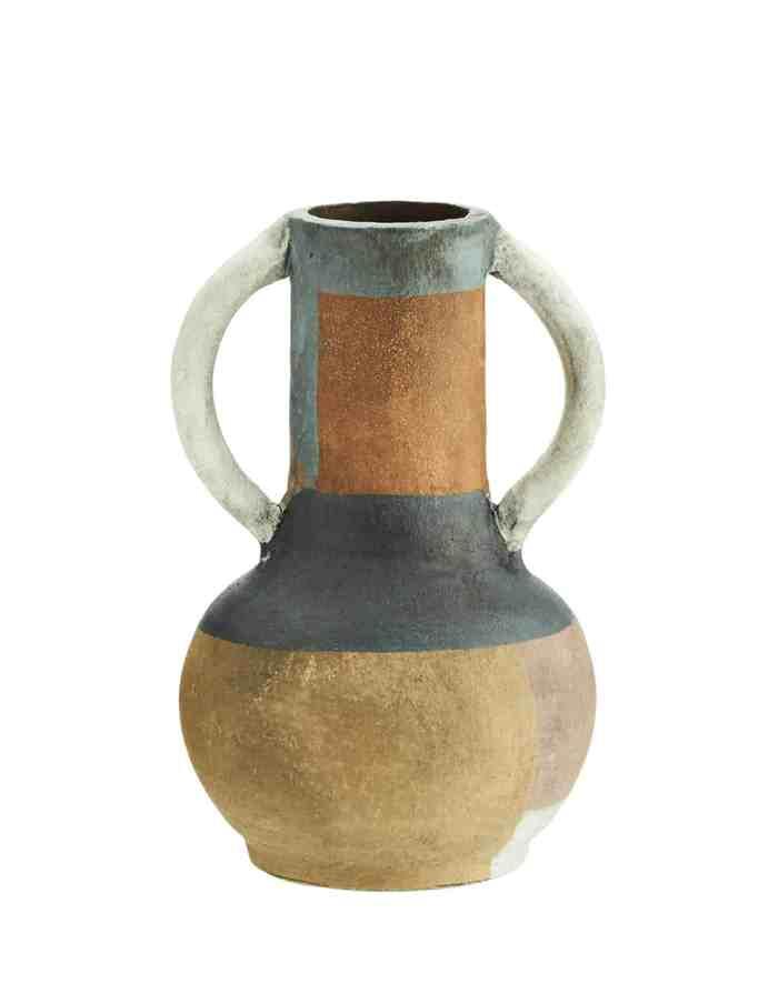 Textured Terracotta Vase, Madam Stoltz