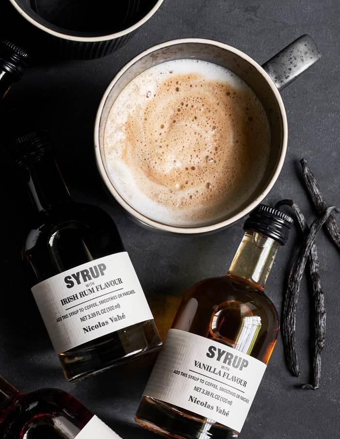 Vanilla Dessert and Beverage Syrup, Nicolas Vahé