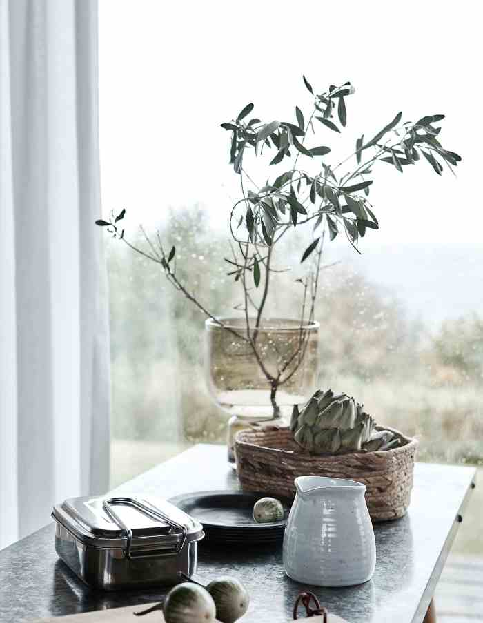 Farida Brown Glass Vase, House Doctor
