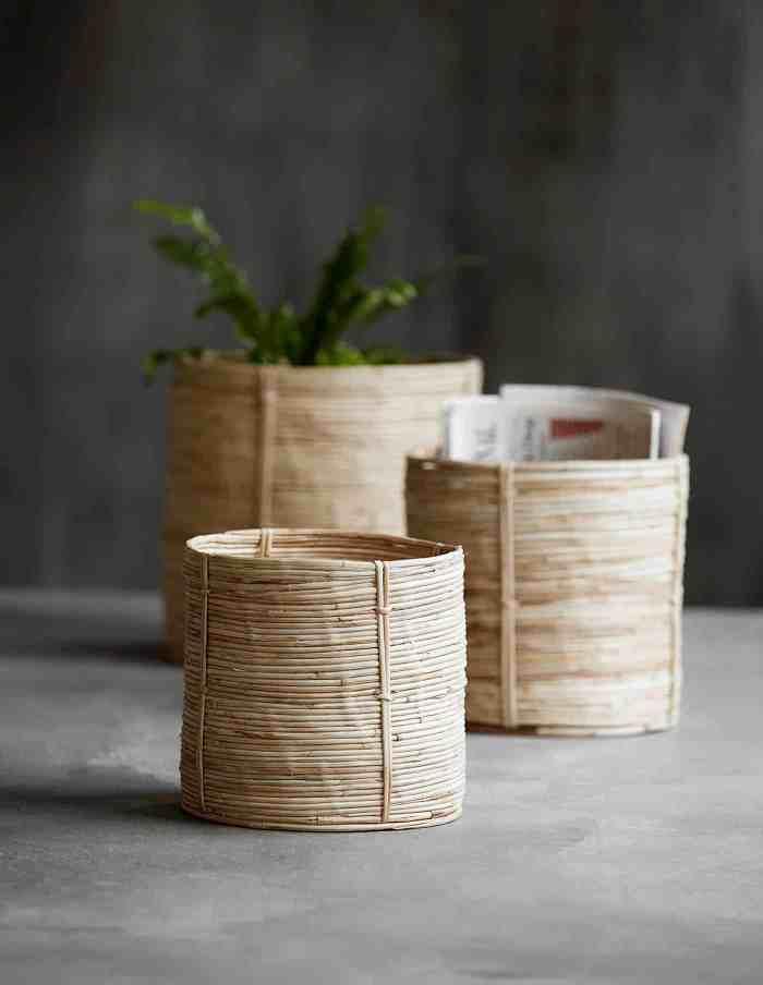 Bamboo Basket, House Doctor