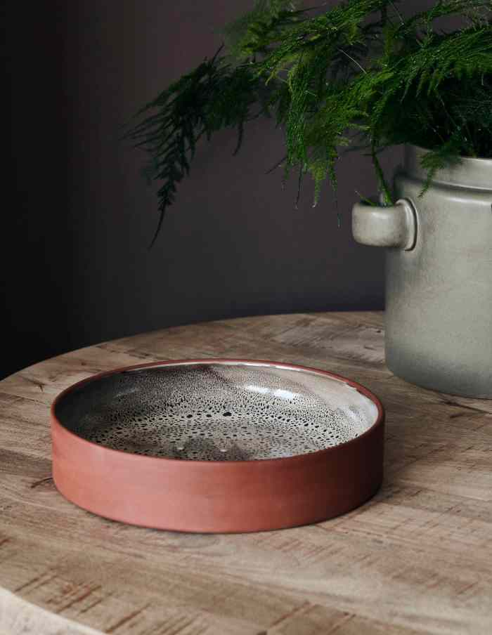 Large Retro Terracotta Bowl, House Doctor