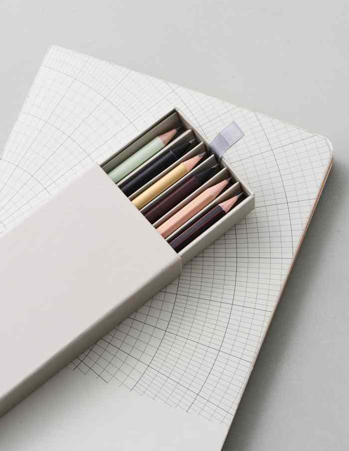 Boxed Pencil Set, Monograph