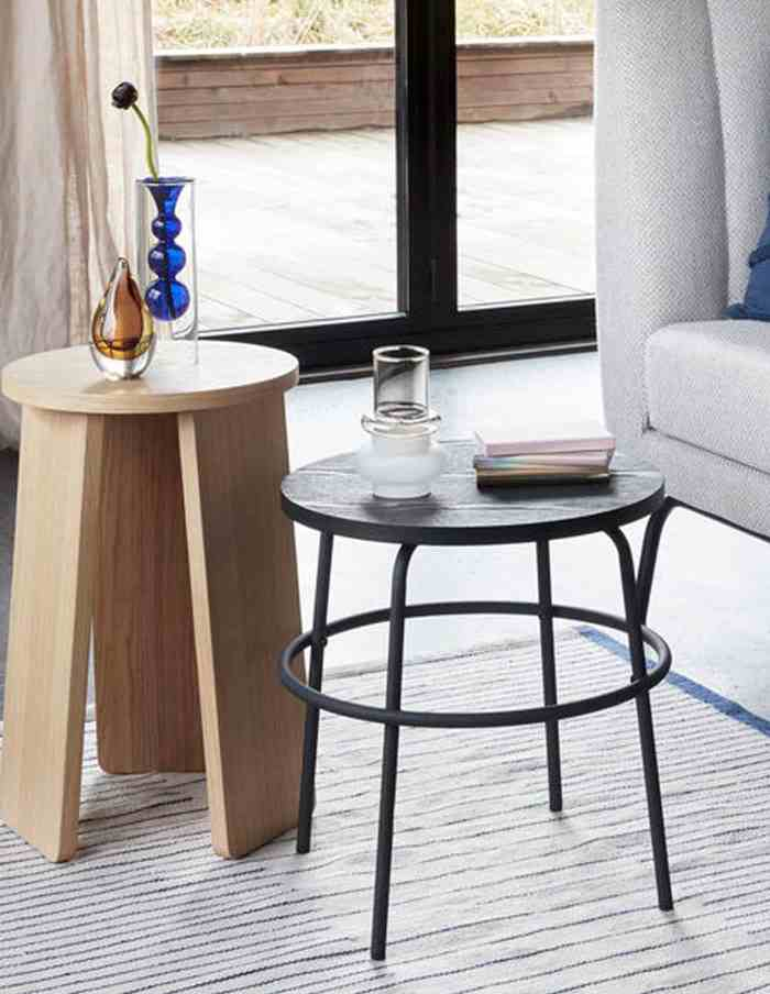 Smoked/Frost Glass Vase, Hubsch
