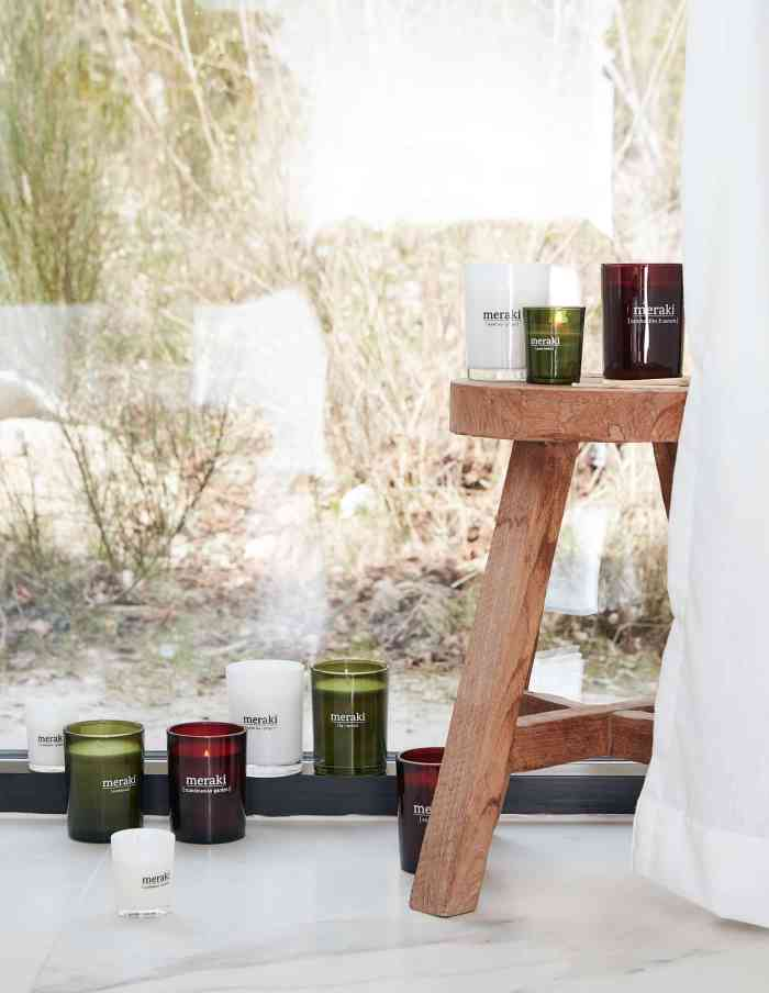 Small Earthbound Scented Candle, Meraki