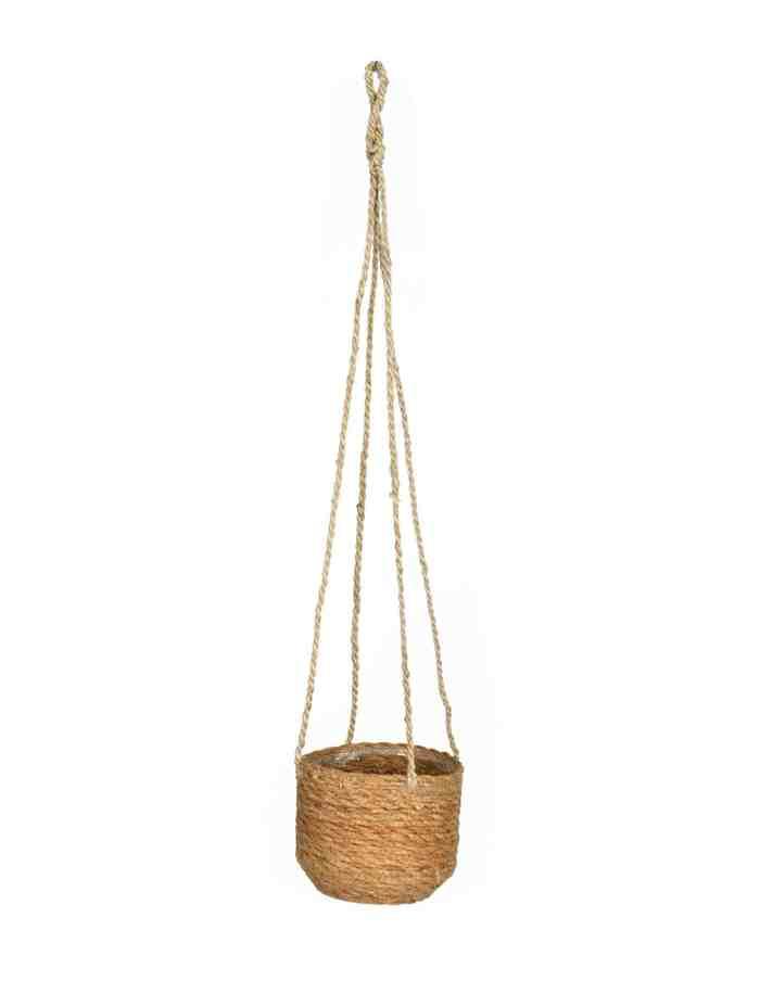 Woven Hanging Plant Pot