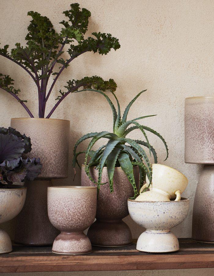 Speckled Ceramic Flower Pot, Madam Stoltz