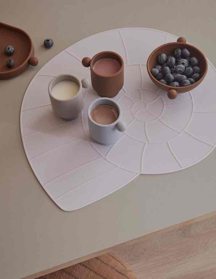 Caramel and Rose Inka Silicone Bowl Set, OYOY