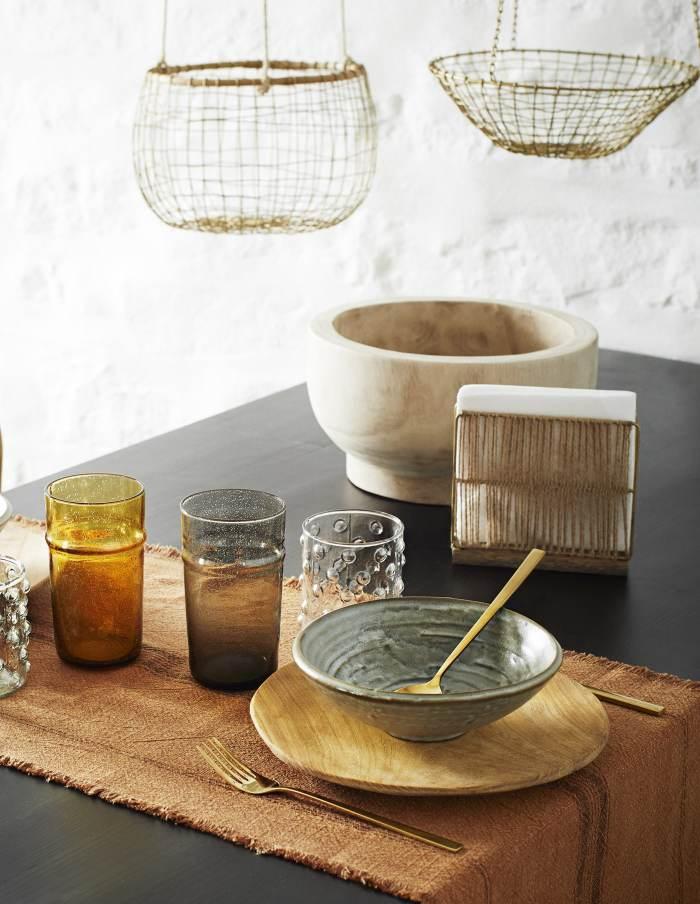 Set of Three Wooden Plates, Madam Stoltz