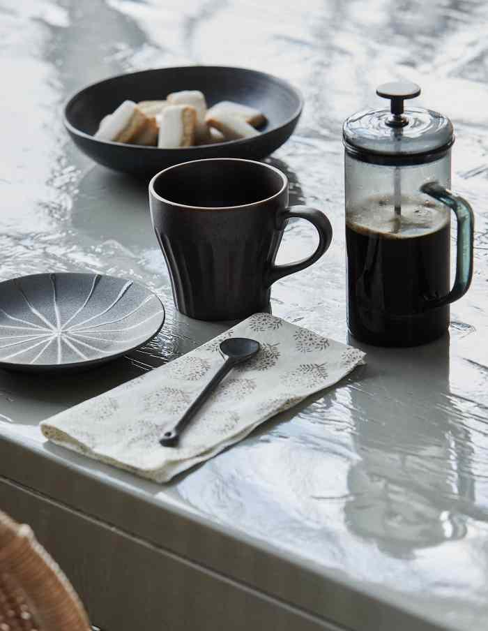 Black Porcelain Spoon, House Doctor