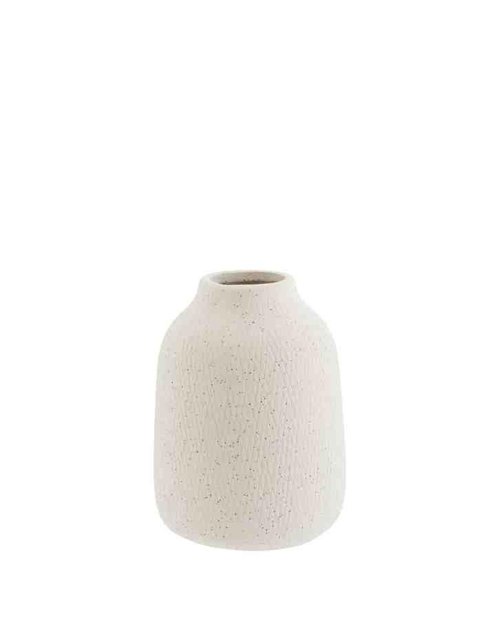 Ivory Textured Bouquet Vase, Madam Stoltz