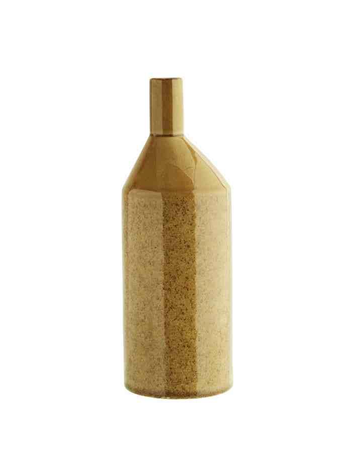 Yellow Ceramic Bud Vase, Madam Stoltz