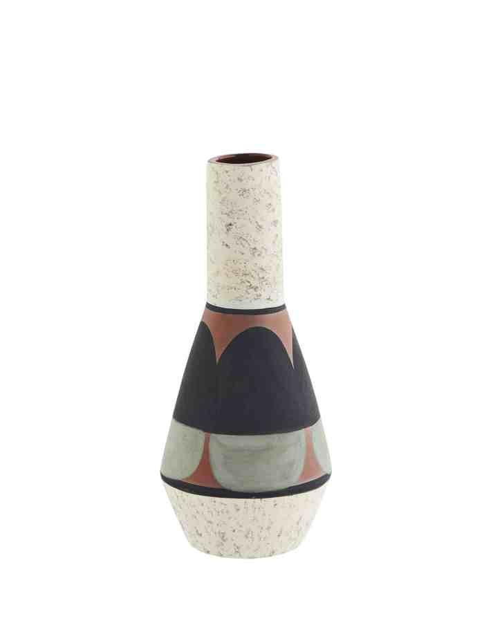 Rustic Abstract Terracotta Vase, Madam Stoltz