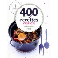 Couverture livre 400 recettes express